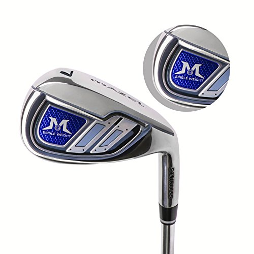 MAZEL Mens Golf Individual Iron 7,Right Handed (Steel, Stiff(S))