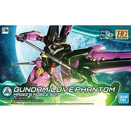 "Bandai Hobby HGBD 1/144 Gundam Love Phantom ""Gundam Build Divers"" Model Kit"