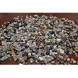 900+ Pcs Bulk Assort Color Mix Gem Stone Rock Chips 1 Pound