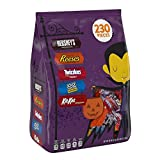 Hershey Halloween Snack Size Candy Assortment (TWIZZLERS Strawberry Twists, TWIZZLERS Rainbow Twists, and TWIZZLERS PULL 'N' PEEL Candy), 68.96-Ounce Bag (230 Pieces)