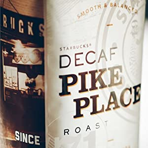 Starbucks Decaf Pike Place® Roast Whole Bean Coffee (1lb)