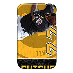 Samsung Galaxy S4 TSx7064Kqnj Custom Nice Pittsburgh Pirates Pattern High Quality Hard Phone Cover -AnnaDubois