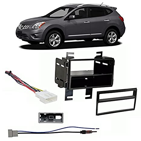Amazon.com: Fits Nissan Rogue 2011 Single/Double DIN Harness Radio