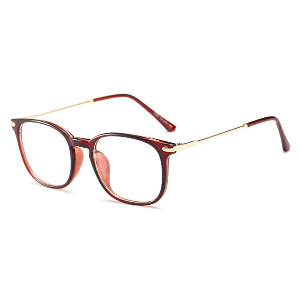 Juleya Montatura per occhiali da donna - TR90 Montatura per occhiali da vista con luce blu bloccata per computer/giochi per PC/TV / occhiali da lettura per telefoni cellulari X171116YJJ0106-J