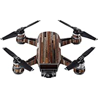Skin For DJI Spark Mini Drone – Woody | MightySkins Protective, Durable, and Unique Vinyl Decal wrap cover | Easy To Apply, Remove, and Change Styles | Made in the USA