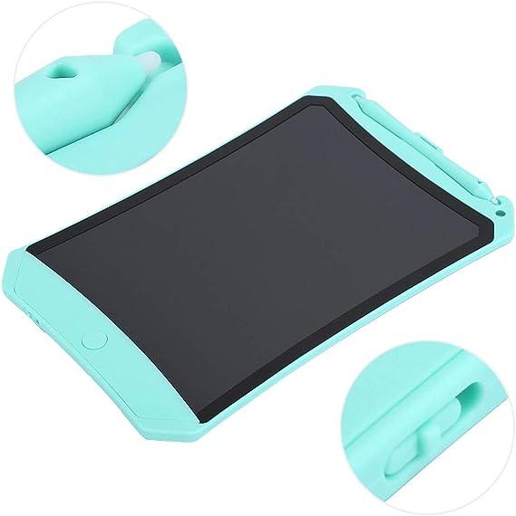 LCDホワイトボード、描画パッド、LCDペインティングボードライティングタブレットキッズギフト/家族書道練習(green)