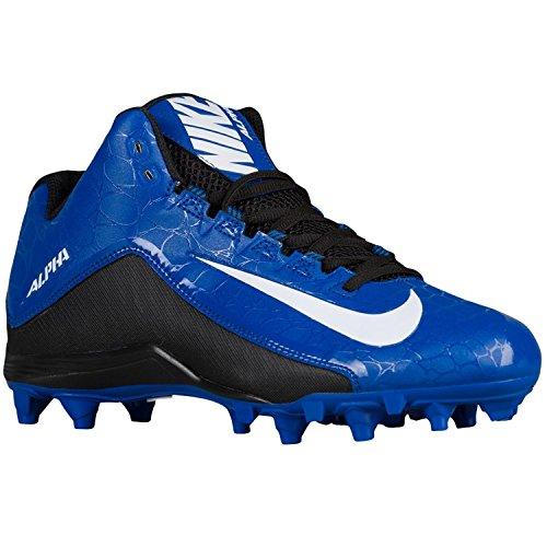 Nike Football Shoes Alpha Strike 2 3/4 D Sport Royal/Whit...