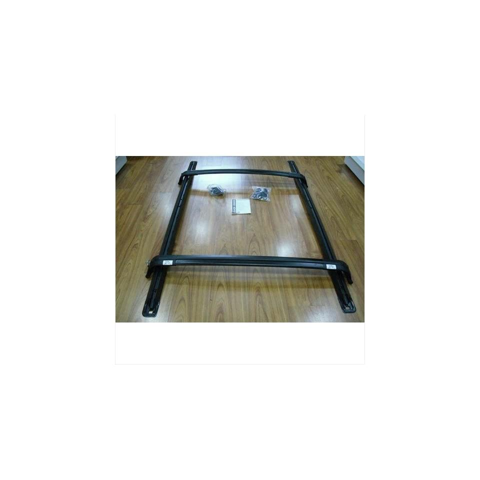 Compatible to Land Rover Range HSE 2010 2011 Black Roof Rack Rails Cross Bars