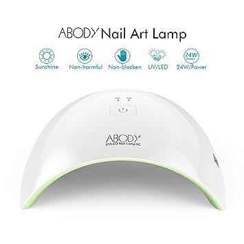 amazon com abody nail dryer 9c 24w nail gel polish dryer 30