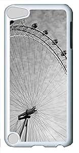 iPod 5 Case Ferris wheel PC Custom iPod 5 Case Cover White