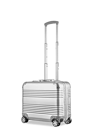 12d74a301 Image Unavailable. Image not available for. Color: Dj Trolley Pilot Flight  Case 100% All Aluminium Hard Shell Luggage