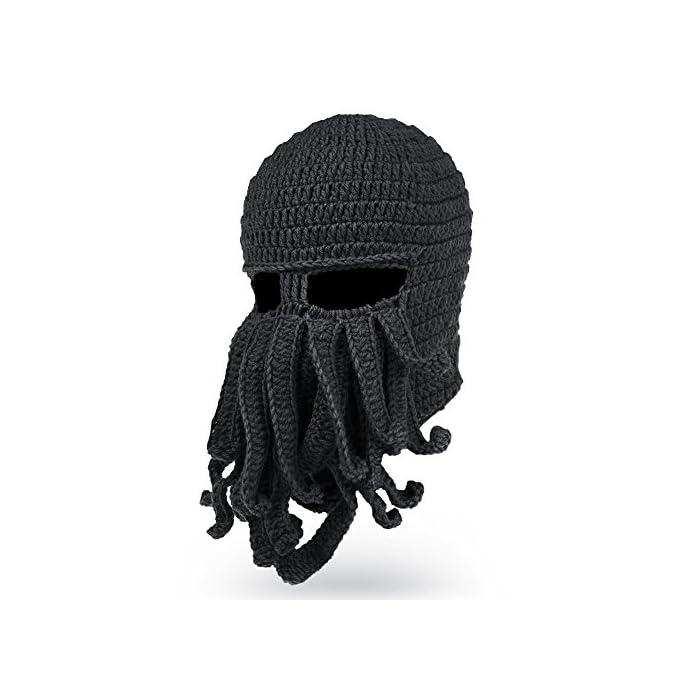 Home MEN Accessories Octopus Beard Hat Beanie -Windproof.    5d95285c5052