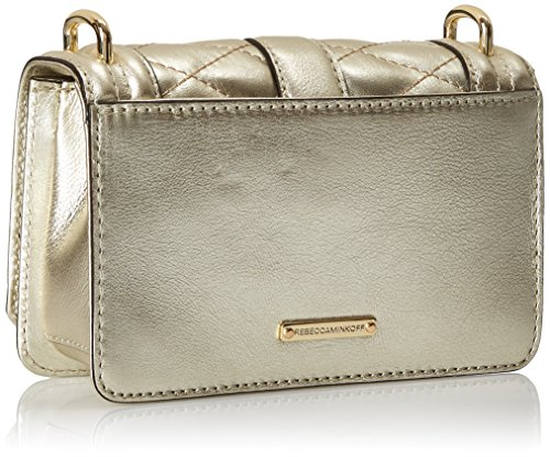 Cross Mini Pewter Bag Body Love Rebecca Minkoff FRqBg