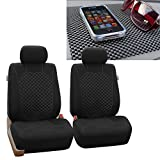 2004 4runner dash cover black - FH GROUP FH-FB066102 Ornate Diamond Stitching Car Seat Covers, White / Black with FH GROUP FH1002 Non-Slip Dash Pad- Fit Most Car, Truck, Suv, or Van