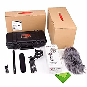 Aputure Deity Kit, Condenser Shotgun Camcorder Professional Microphone for Canon Nikon Sony Digital Camera DV Camcorder w/ EACHSHOT Cleaning Cloth