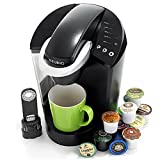 Coffee Machine for Business Keurig K55/K45 Elite Single Cup Home Brewing System (Black)