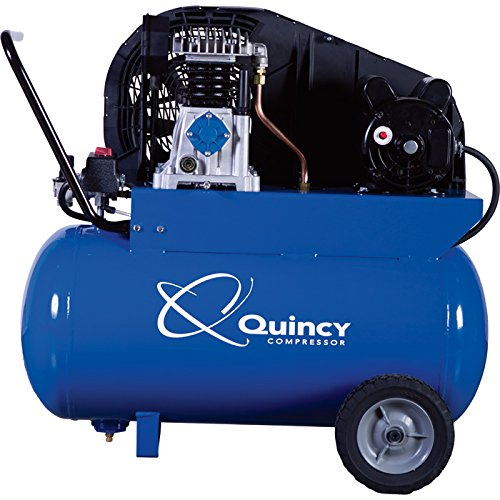 - Quincy Single-Stage Air Compressor - 2 HP, 115 Volt, 20-Gallon Horizontal Tank, Model# Q12120PQ