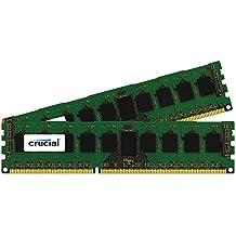 Crucial 16GB (2x8GB) DDR3 1600 MHz 1.35 V ECC Registered RDIMM Memory