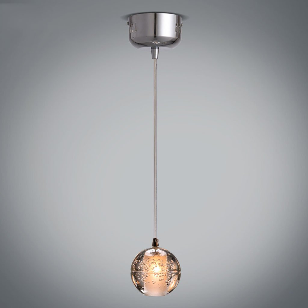Pendant lights Creative Personality Chandelier Modern Bubble Ball Pendant Lamp Living Room Bar Ceiling Lamp Meteor Shower Bedroom Single Head Chandelier Lamp