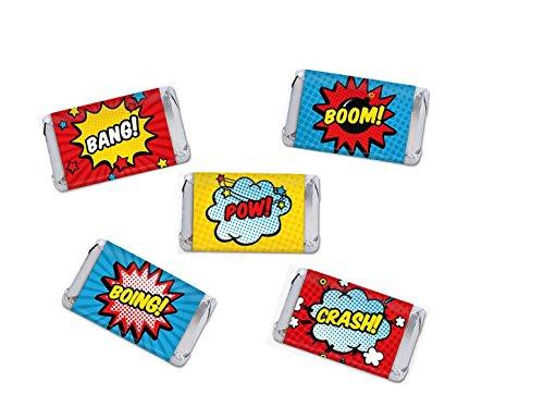 Superhero Miniature Candy Party Favors