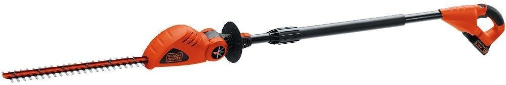 5. Black+Decker LPHT120 Cordless Pole Hedge Trimmer