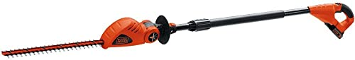 BLACK DECKER 20V MAX Cordless Pole Hedge Trimmer, 18-Inch LPHT120