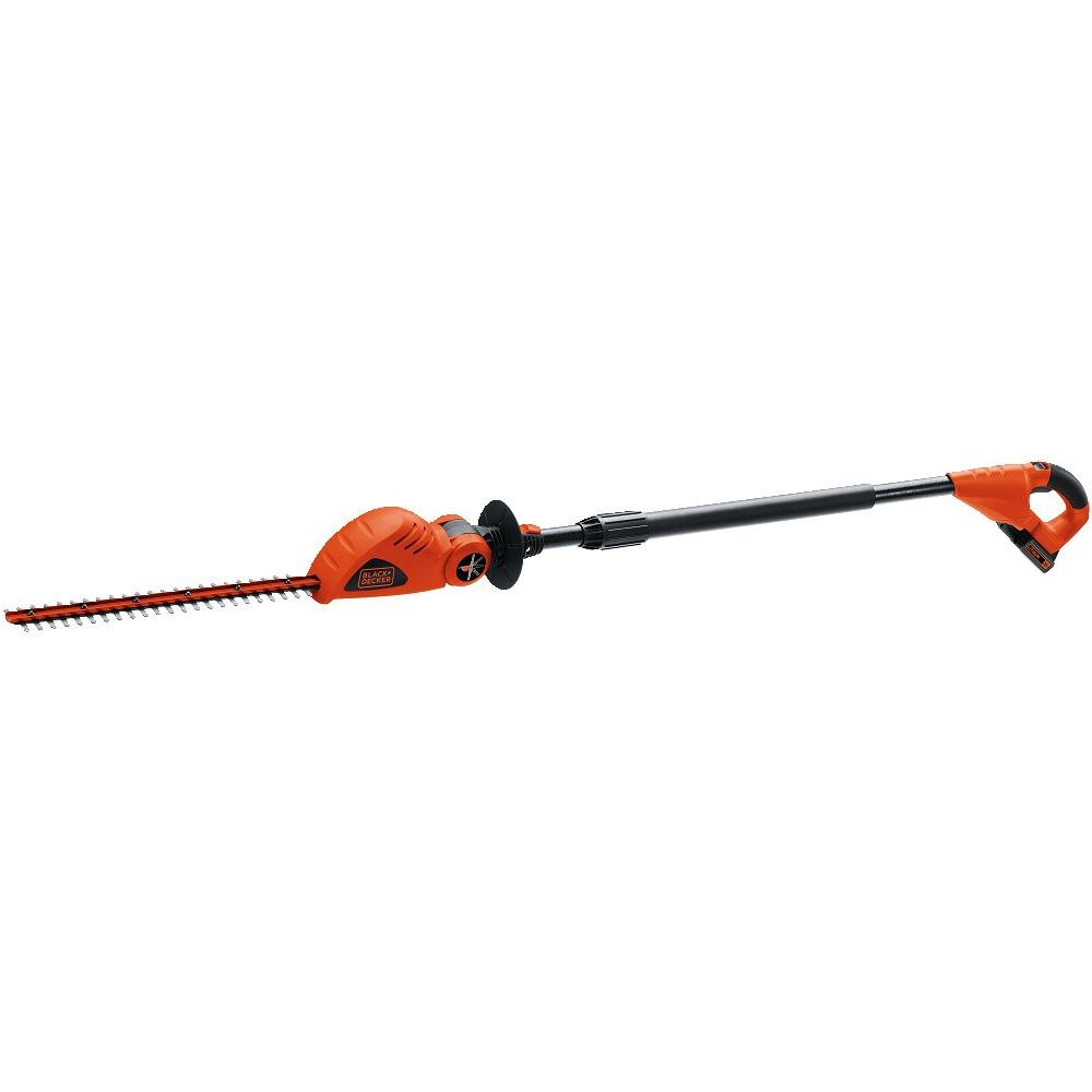 BLACK+DECKER LPHT120 18-inch 20-Volt Lithium-Ion Cordless Pole Hedge Trimmer