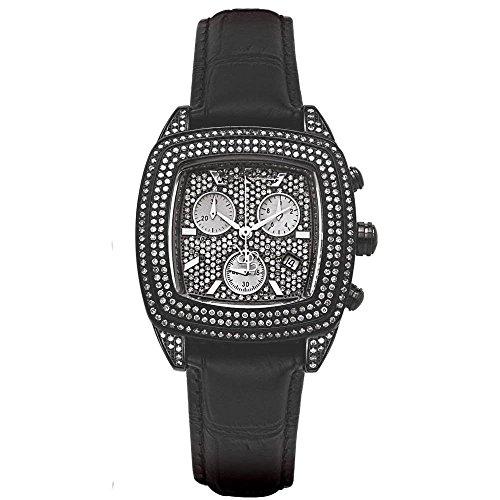 Joe Rodeo Diamond Ladies Watch - CHELSEA black 5 ctw