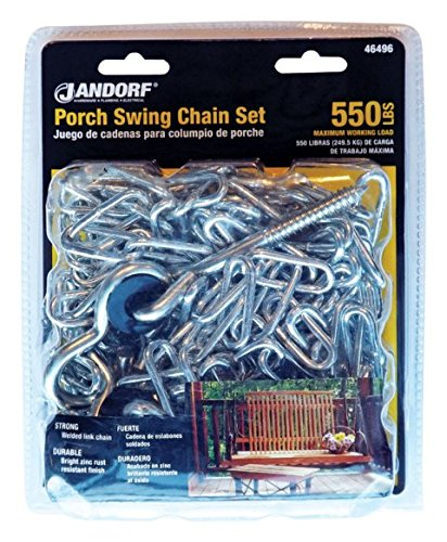 Jandorf Chain Swing Porch Set by ORRCO MfrPartNo 46496, N