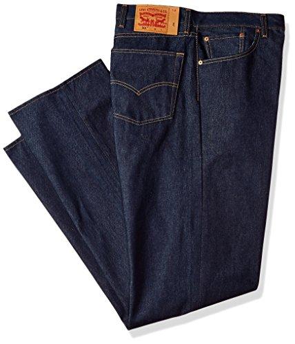 Levi's Men's Big and Tall Big & Tall 501 Original Shrink-to-Fit Jean, Rigid STF/Natural Fill, 36W x 36L