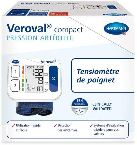 Veroval Hartmann - Tensiómetro compacto para muñeca: Amazon.es: Salud y cuidado personal