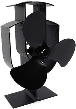 CLCYL Chimenea Ventilador Nuevo diseño energía térmica Silencio ...