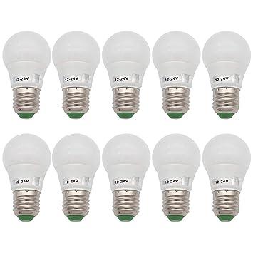 GRV E27 6 bombillas LED para faros Blub - 5730smd luz AC/CC 12~