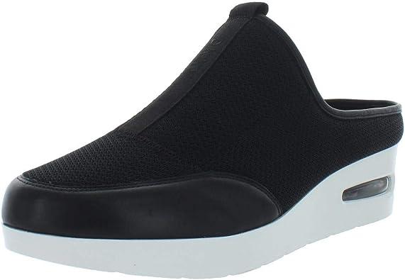DKNY Allegra Mule Wedge Sandals, Black
