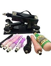 Automatisch seksmachinegeweer voor dames en heren, neukmachine met 8 hulpstukken, speelgoed voor volwassenen voor mannelijke vrouwelijke masturbatie