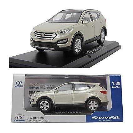 Amazon Com Pino B D Hyundai Santafe 1 38 Diecast Miniature Display