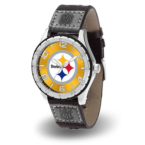 Nfl Licensed Logo Watches (Pittsburgh Steelers Gambit Watch - NFL Licensed)