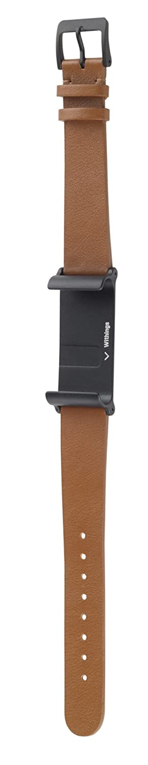 Amazon Withings Leather Wrist Band For Pulse Ox Brown Sports Outdoors