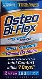 Osteo Bi-Flex – Glucosamine Chondroitin with 5-Loxin and Vitamin D3 2000IU, 190 ct. Value Size