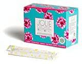 JOLIE ORGANIC Tampons with Applicator - 18 Regular - Pink & Turquoise Box…