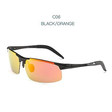 Wang-RX Aviación Conducción Gafas de sol polarizadas Hombres ...