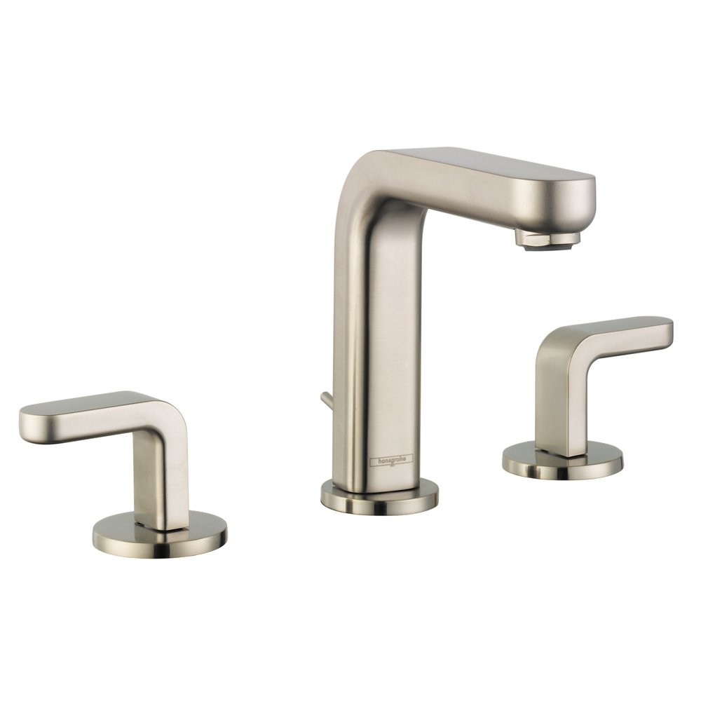 Hansgrohe 31067821 Metris S Widespread Faucet with Lever Handles ...