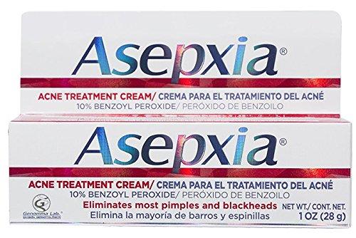 ASEPXIA l'acné crème de traitement localisé pour boutons & point noir avec du peroxyde de benzoyle (10 %) Base de