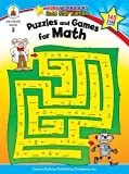 Puzzles and Games for Math, Grade 3, Carson-Dellosa Publishing Staff, 1604188030