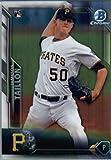 2016 Bowman Chrome #14 Jameson Taillon Pittsburgh Pirates Baseball Rookie Card in Protective Screwdown Display Case