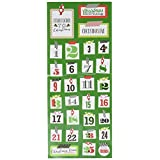 Me and My BIG Ideas STP-194 Mambi Sticks Stickers, Washi Christmas Numbers