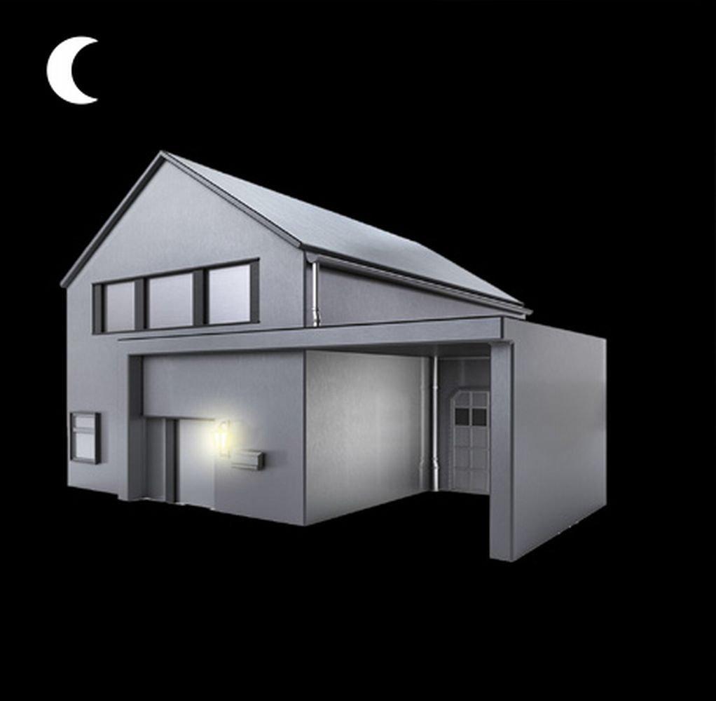D/ämerungssensor f/ür automatische Beleuchtung bei Nacht Steinel D/ämmerungsschalter NightMatic 2000 wei/ß