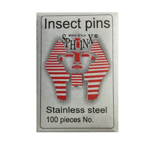 Stainless Steel Insect Pins Size 00 Ento-sphinx