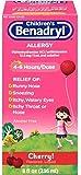 Children's Benadryl Allergy Liquid Cherry 8 oz (12 Pack)