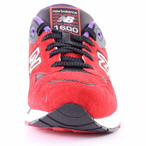 New Balance Mens Cm1600 Classic Fashion Sneaker Rosso / Nero